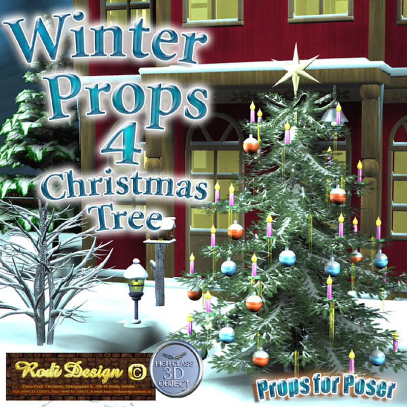 Winter Props 4 Christmas Tree by Rodi_Design