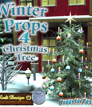 Winter Props 4 Christmas Tree Legacy Discounted Content Rodi_Design