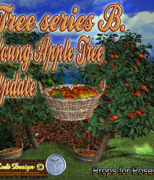 Young Apple Trees Legacy Discounted Content Rodi_Design