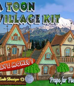 A Toon Village Kit Legacy Discounted Content Rodi_Design