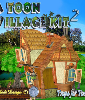 A Toon Village Kit Add-On Legacy Discounted Content Rodi_Design