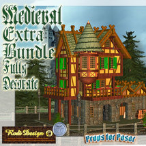 Medieval Extra House Bundle 2 image 1