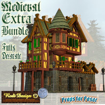 Medieval Extra House Bundle 2 image 2