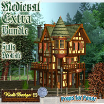 Medieval Extra House Bundle 2 image 3