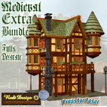 Medieval Extra House Bundle 2 image 4