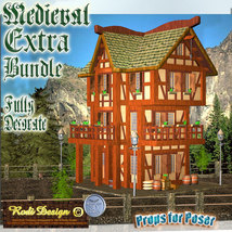 Medieval Extra House Bundle 2 image 5