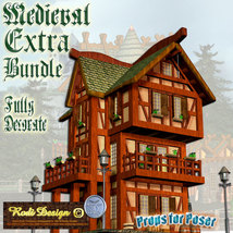 Medieval Extra House Bundle 2 image 6