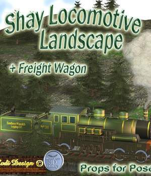 Shay Locomotiv Landscape, Extra Legacy Discounted Content Rodi_Design