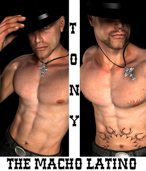 Tony, The Macho Latino for Michael 4 Legacy Discounted Content Tempesta3d