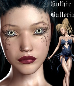 Gothic Ballerina for V4 Legacy Discounted Content Tempesta3d