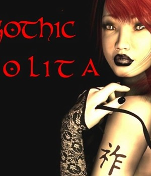 Gothic Lolita for V4 Legacy Discounted Content Tempesta3d