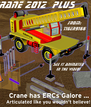 AtoZ CRANE2012 PLUS - Construction Set Legacy Discounted Content AtoZ