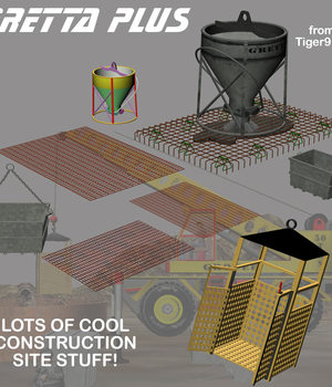 AtoZ Gretta Plus - More for the Construction Series Legacy Discounted Content AtoZ
