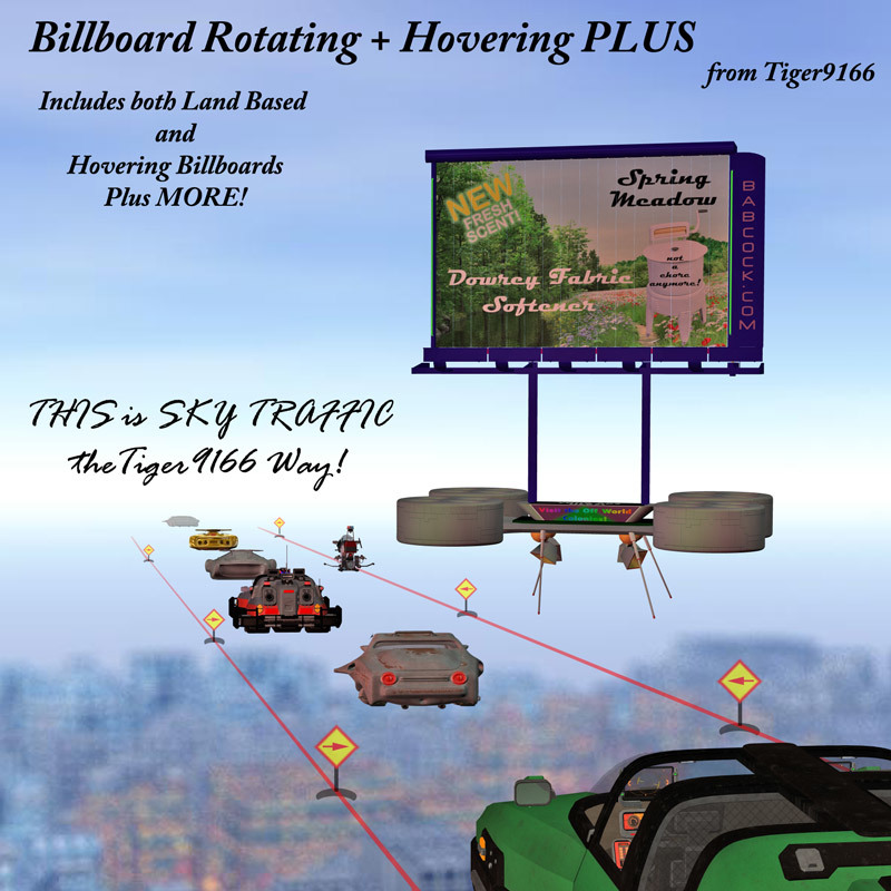 AtoZ Billboard Rotating & Hovering PLUS