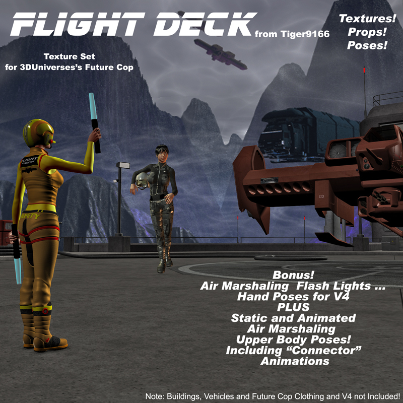 AtoZ FLIGHT DECK and MORE for Future Cop