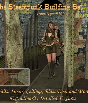 At0Z Steampunk Building Kit I (Interior) v1 Legacy Discounted Content AtoZ