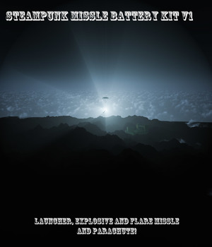 AtoZ Steampunk Portable Missile Battery v1 Legacy Discounted Content AtoZ