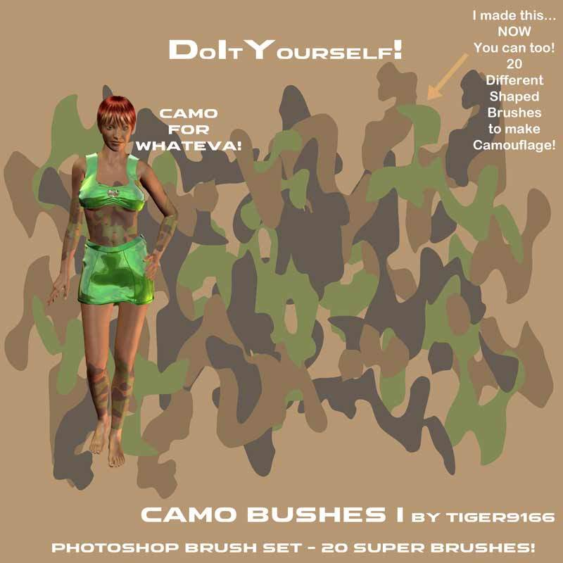 AtoZ Camouflage Brushes I v1