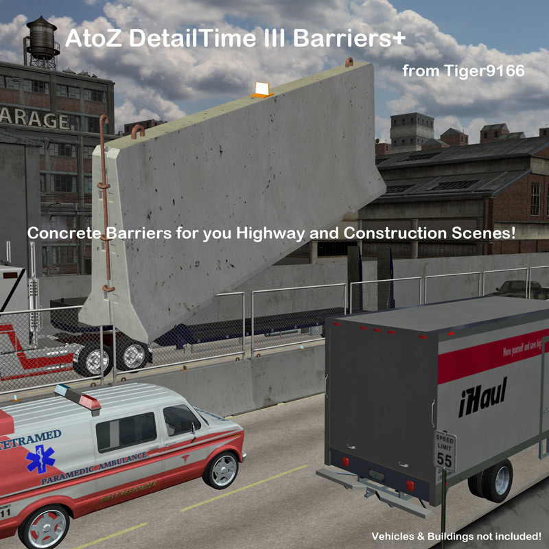 AtoZ DetailTime III Barriers Plus v1