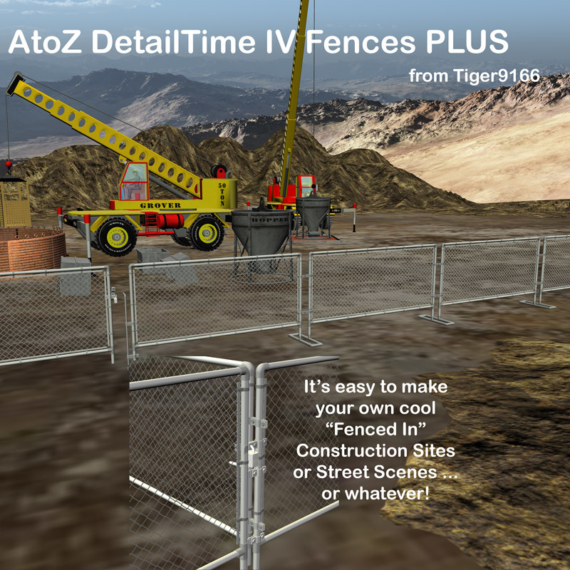 AtoZ DetailTime IV Fences PLUS v1
