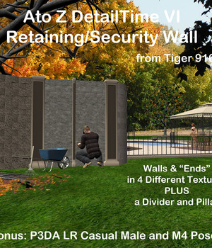 AtoZ DetailTime V Retaining-Security Walls PLUS v1 Legacy Discounted Content AtoZ