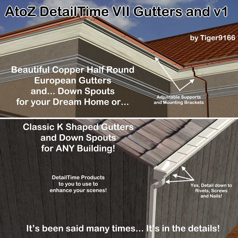 AtoZ DetailTime VII Gutters and v1