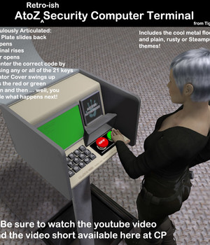 AtoZ Security Computer Terminal Legacy Discounted Content AtoZ
