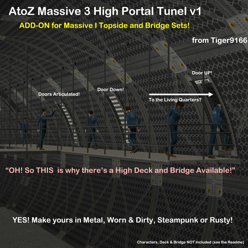 AtoZ Massive 3 High Portal Add-On v1 by AtoZ