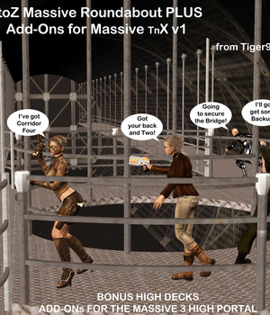 "AtoZ Massive TnX & Massive 3 High Portal Add-ON for the ""X"" v1 Legacy Discounted Content AtoZ"