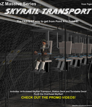 AtoZ Massive Series SkyRail Transport v1 Legacy Discounted Content AtoZ