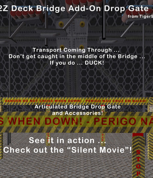 AtoZ Deck Bridge Add-On Drop Gate v1 Legacy Discounted Content AtoZ