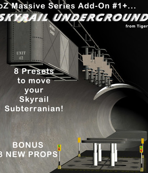 AtoZ Massive SkyRail Add-On 1 Underground v1 Legacy Discounted Content AtoZ