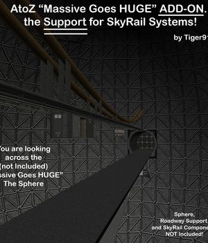 AtoZ Massive Goes HUGE SkyRail Support AddOn v1 Legacy Discounted Content AtoZ