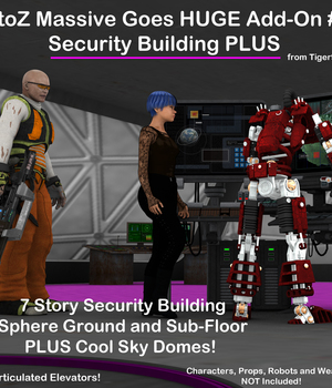 AtoZ Massive Goes HUGE Add-On #1 Security Building Plus Legacy Discounted Content AtoZ