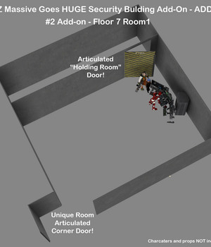 AtoZ Massive Goes HUGE Add-On #2 Security Building 7th Floor Room 1 v1 Legacy Discounted Content AtoZ