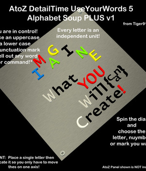 AtoZ DetailTime UseYourWords 5 AlphabetSoup PLUS Legacy Discounted Content AtoZ