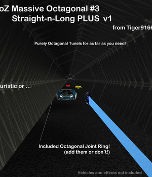 AtoZ Massive Octagonal-III Straight-n-Long v1 Legacy Discounted Content AtoZ