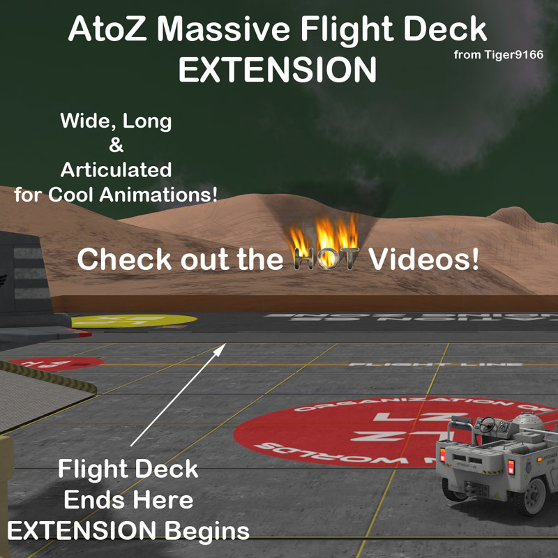 AtoZ Massive Octal-V Add-On Flight Deck Ext v1