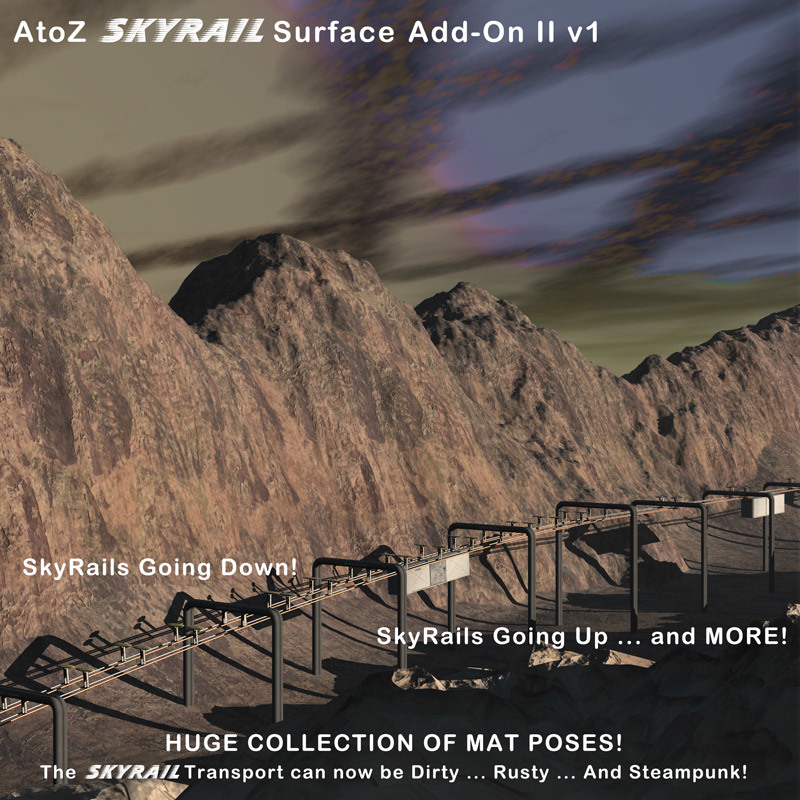 AtoZ SkyRail Surface Add-On II v1