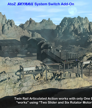 AtoZ SkyRail Switch Add-On III v1 Legacy Discounted Content AtoZ