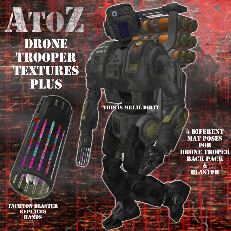 AtoZ DroneTrooper Add-On Textures PLUS v1