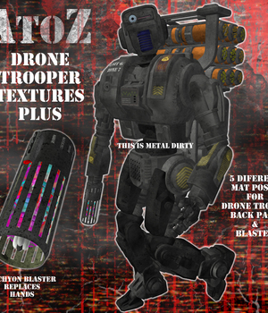 AtoZ DroneTrooper Add-On Textures PLUS v1 Legacy Discounted Content AtoZ