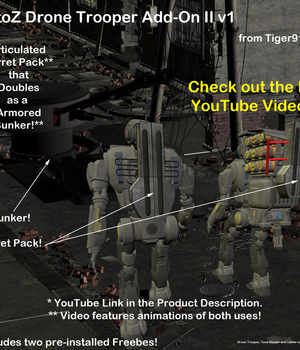 AtoZ Drone Trooper Turret Pack PLUS Addon II v1 Legacy Discounted Content AtoZ