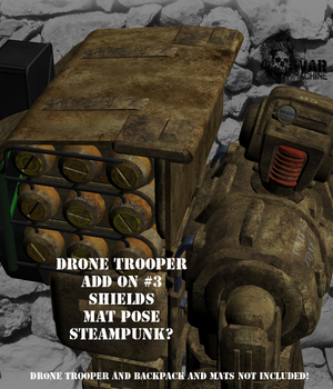 AtoZ DTrooper Backpack Special AddOn III v1 Legacy Discounted Content AtoZ