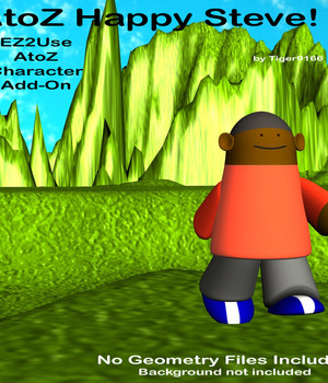AtoZ Add-On Steve for Knockers Pirates v1 Legacy Discounted Content AtoZ