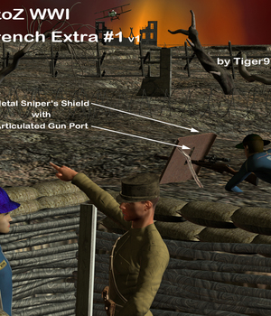 AtoZ WWI Trench Extra 1 v1 Legacy Discounted Content AtoZ