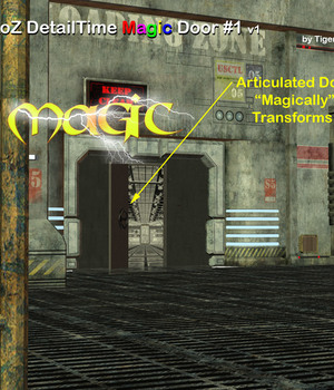 AtoZ DetailTime Magic Door 1 PLUS v1 Legacy Discounted Content AtoZ
