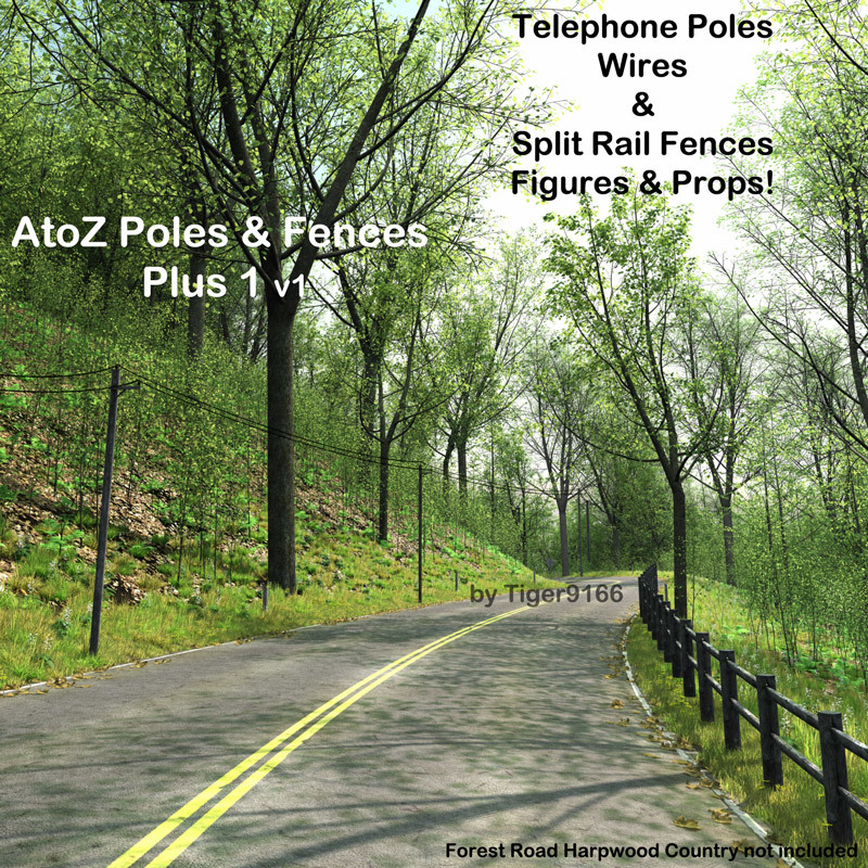 AtoZ DetailTime Poles Plus 1 v1 by AtoZ