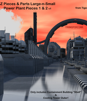 AtoZ Pieces n Parts Power Plant 1 v1 Legacy Discounted Content AtoZ