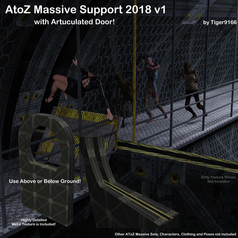 AtoZ Massive Support With Door 2018 1 v1 by AtoZ